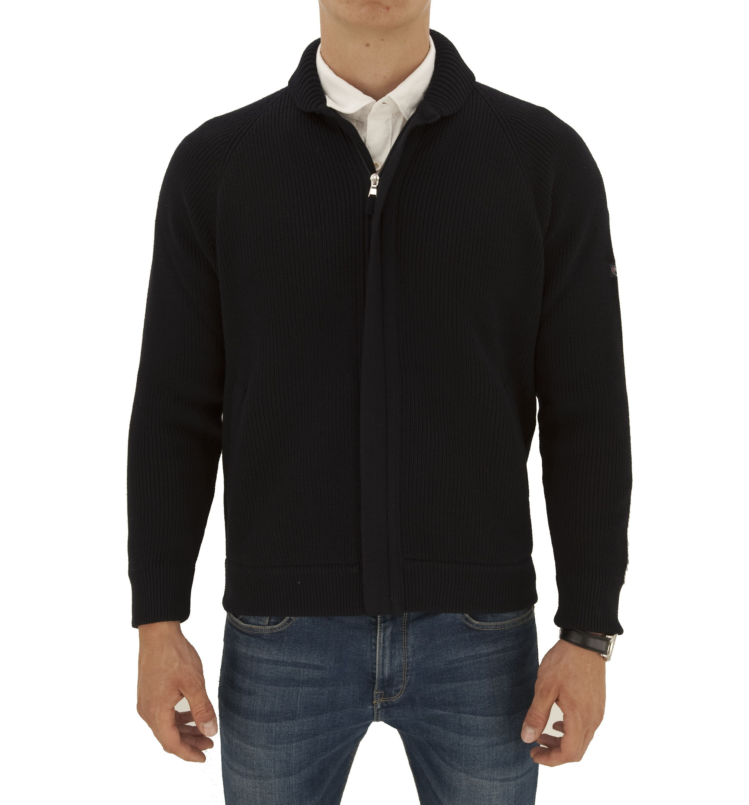Picture of Slocum knitted zip jacket