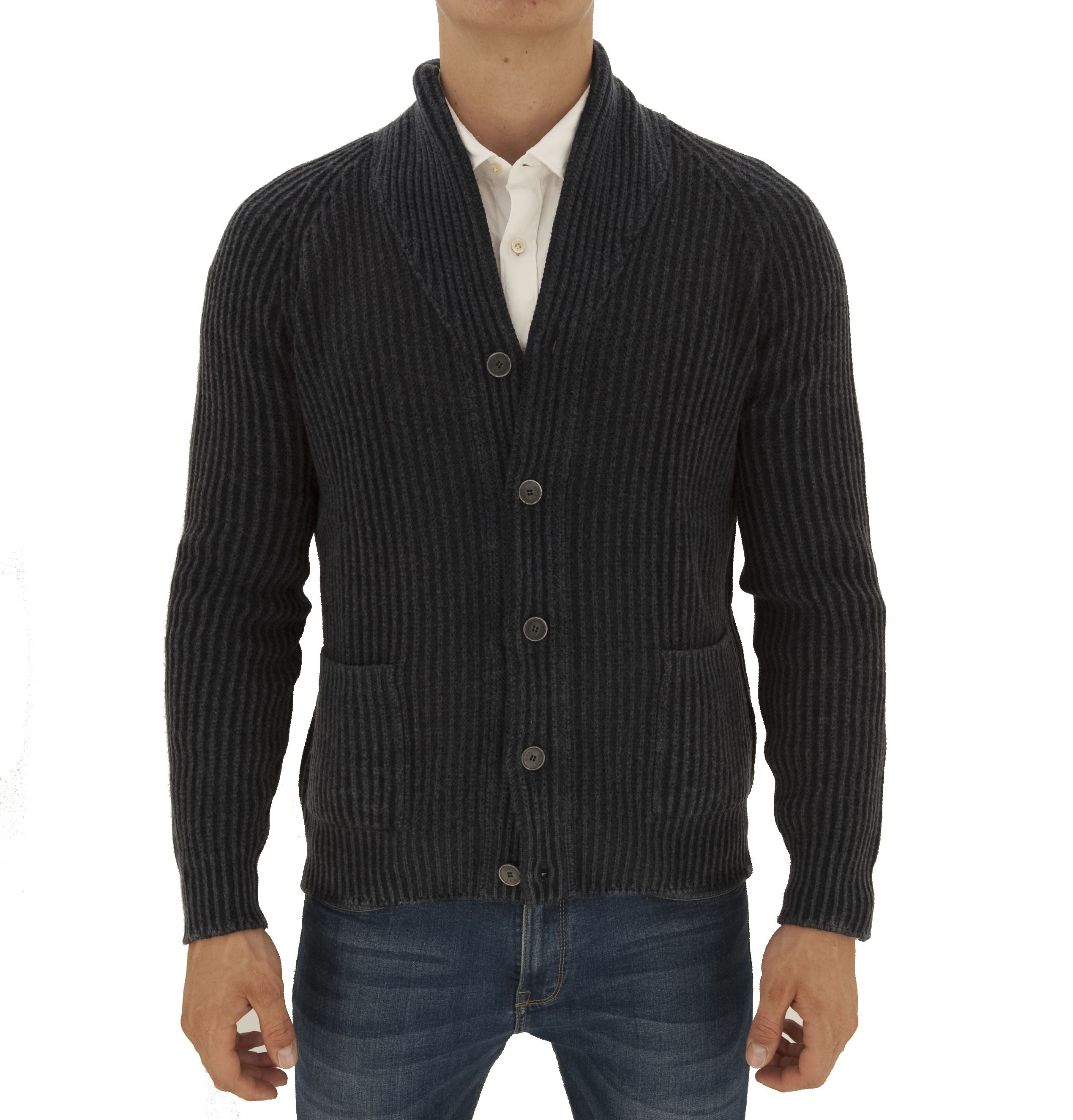 Picture of Tamata rib knitted cardigan