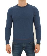 Picture of ROUND NECK SUPERGEELONG SWEATER COLOUR POWDER LIGHT BLUE