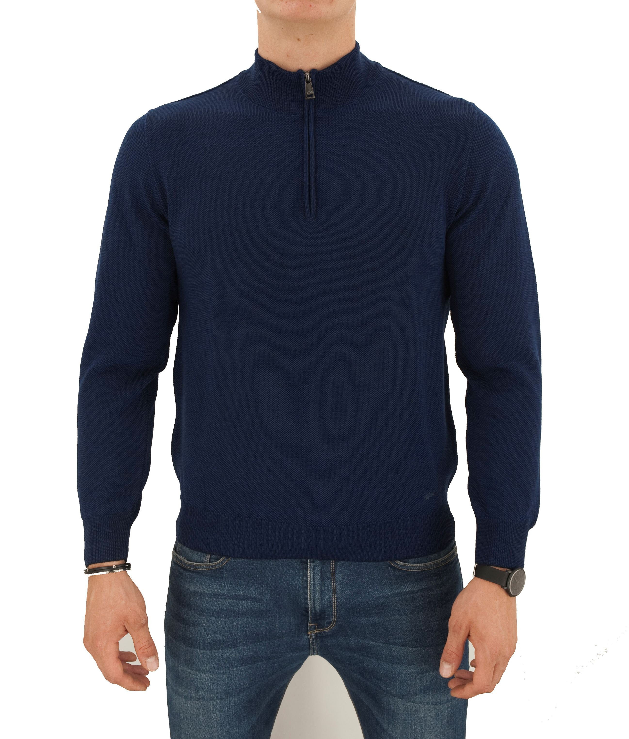 Picture of MOCK TURTLENECK WITH ZIPPER