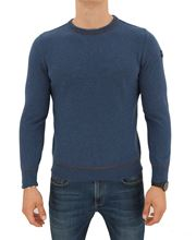 Picture of ROUND NECK SUPERGEELONG SWEATER POWDER LIGHT BLUE