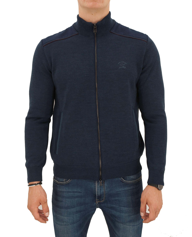 Immagine di Blusotto lana con zip