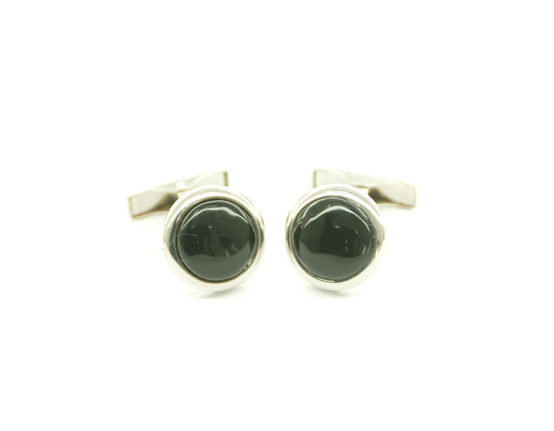 Picture of ONYX CUFFLINKS
