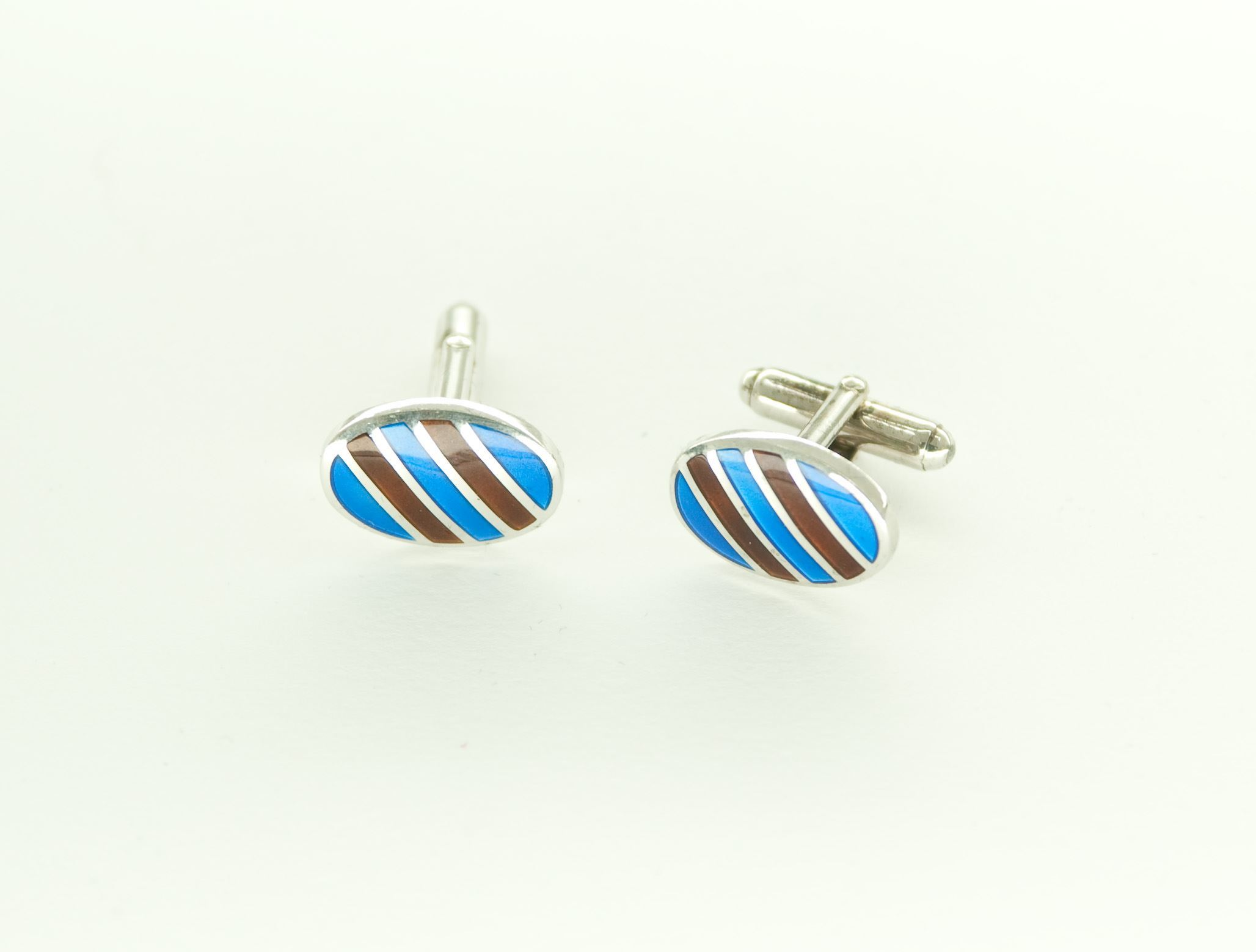 Picture of ENAMELLED CUFFLINKS