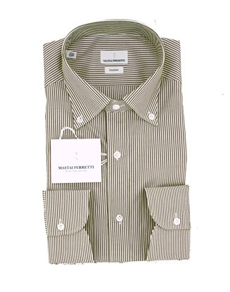 Picture of SHIRT IN PURE COTTON STRIPED