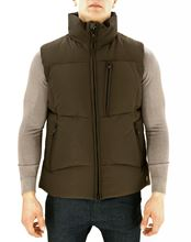 Picture of SLEEVELESS JACKET COLOUR BROWN