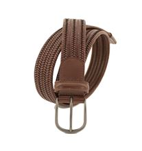 Picture of STRETCH LEATHER BELT COLOUR OCHRE