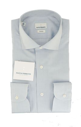 Picture of LIGHT BLUE COTTON ZEPHIR SHIRT