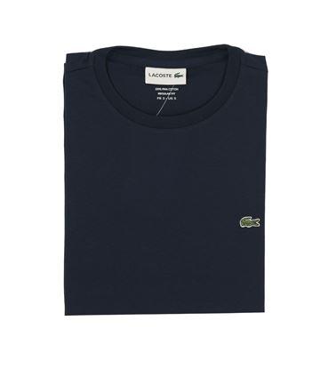 Immagine di Girocollo blu manica corta jersey cotone