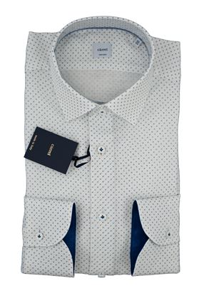 Picture of MICRO PATTERN LINEN SHIRT