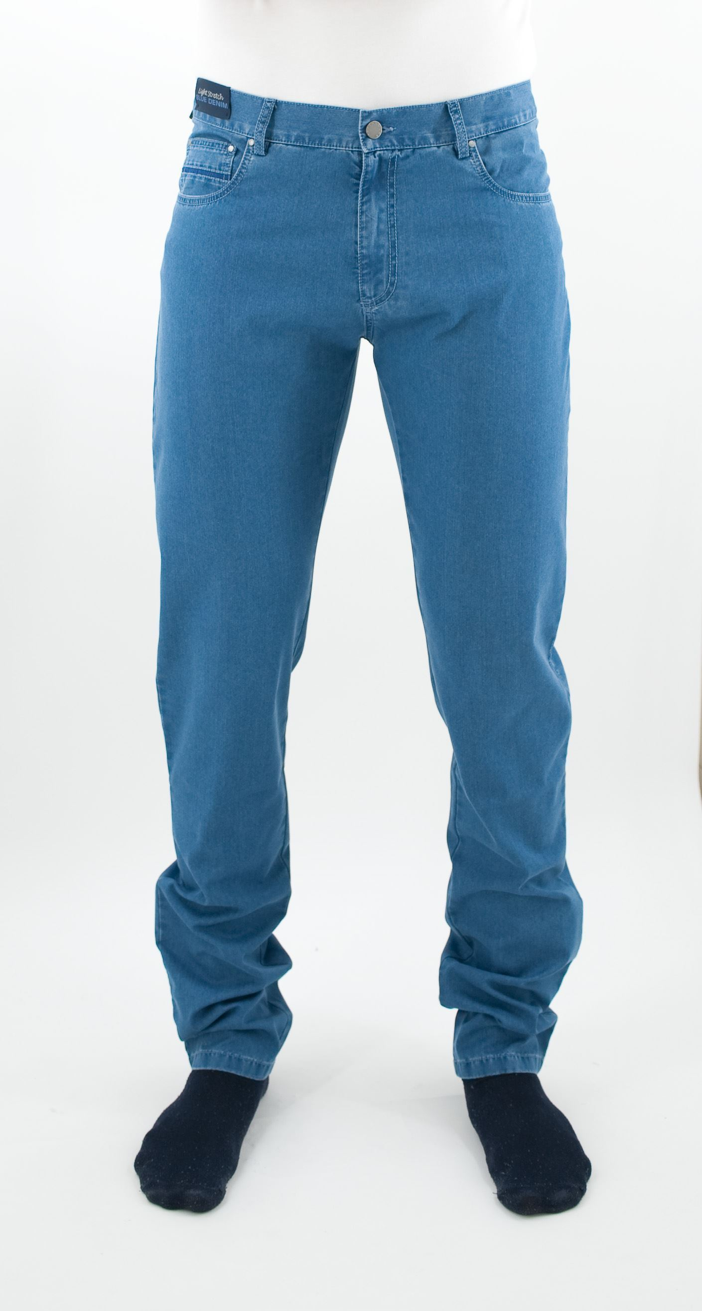 Picture of 5 pocket jeans blue