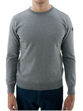 Picture of Water proof crew neck sweater light grey