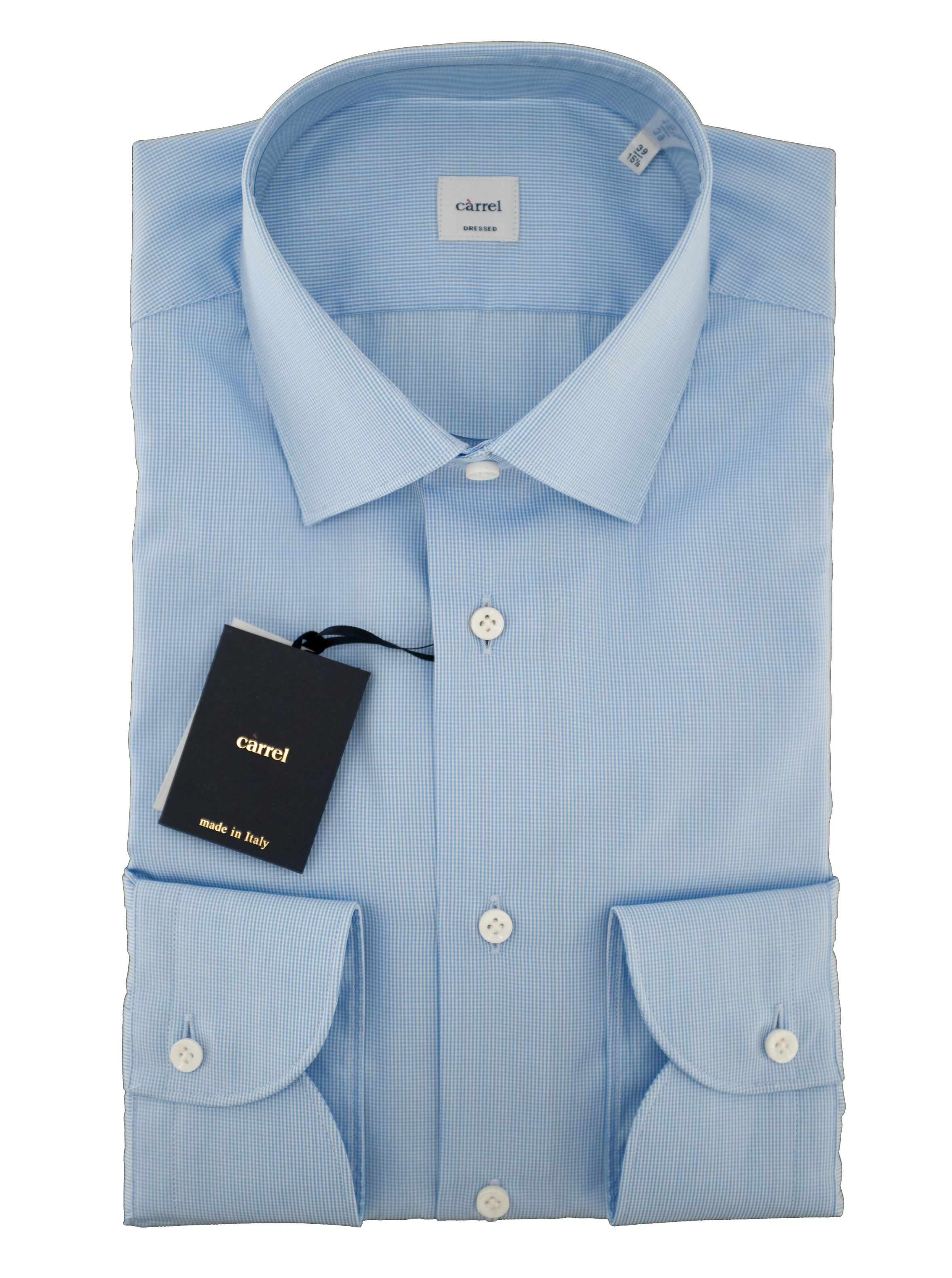 Picture of vichy micro pattern shirt