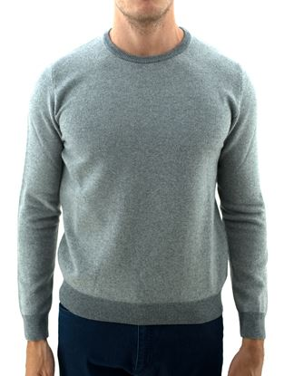 Picture of Honeycomb wool crew neck sweater