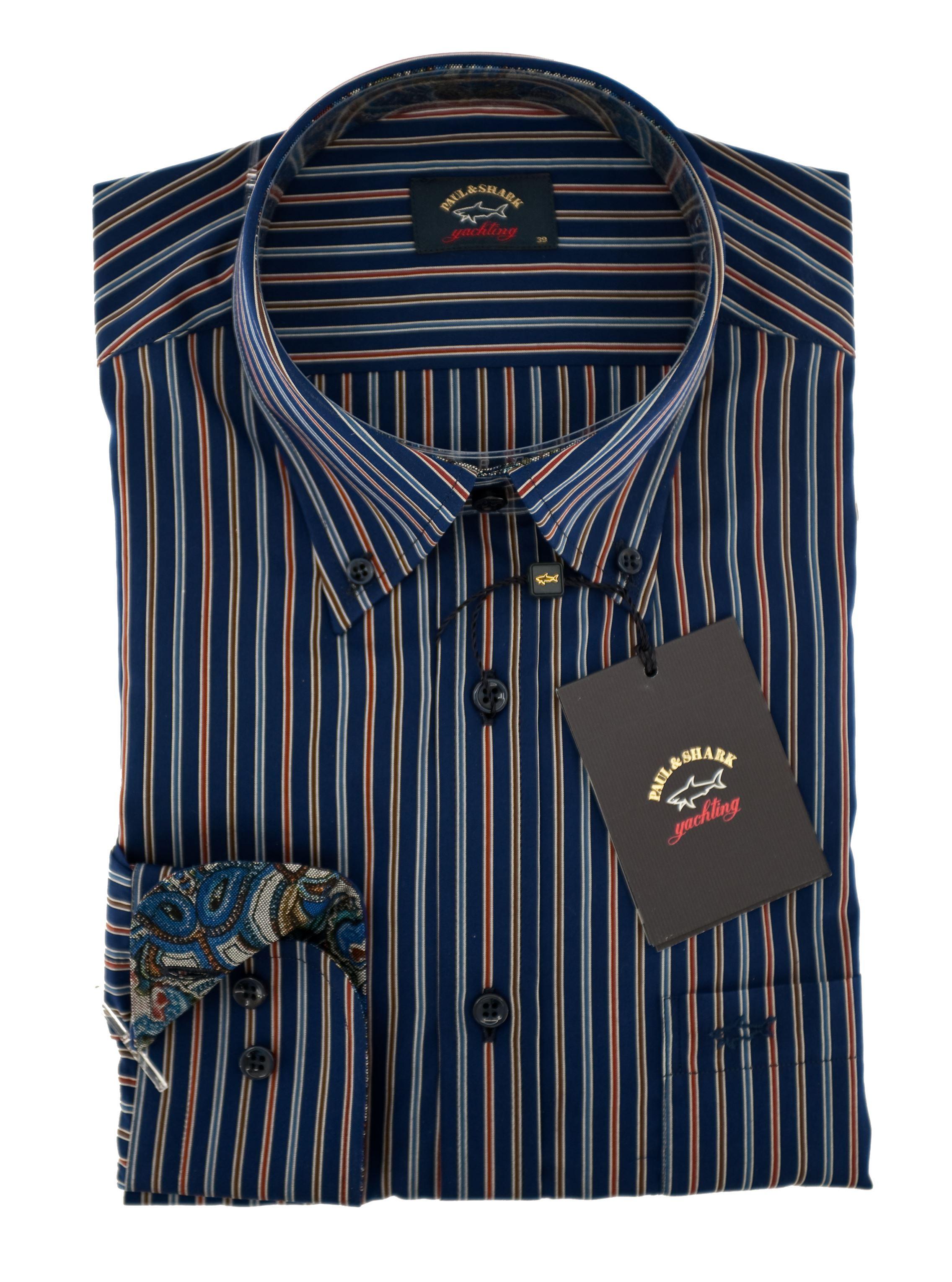 Immagine di camicia manica lunga button down
