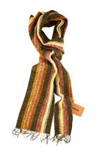 Picture of Fancy scarf colour brown