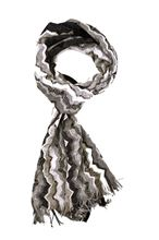 Picture of Fancy scarf colour  grey