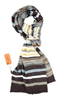 Picture of Fancy scarf colour  blue