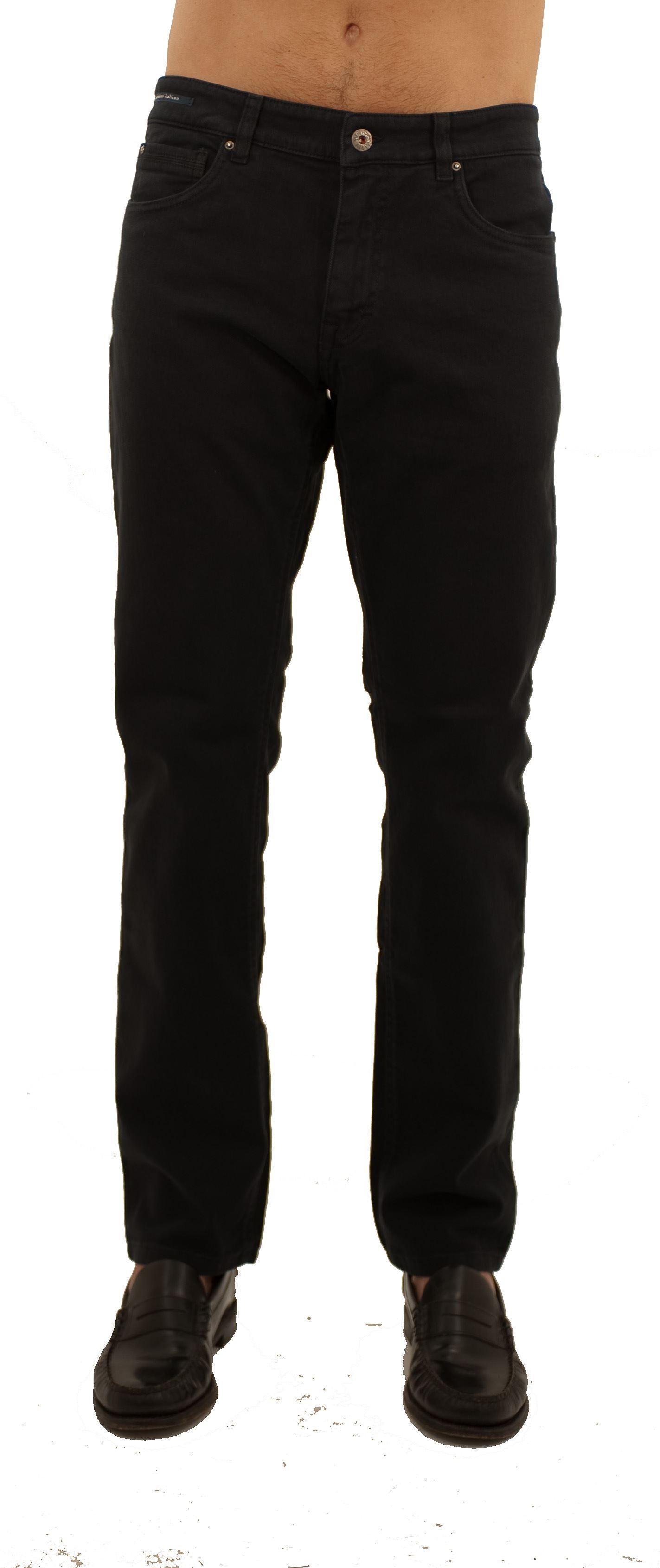 Immagine di Pantalone 5 tasche in gabardine di cotone