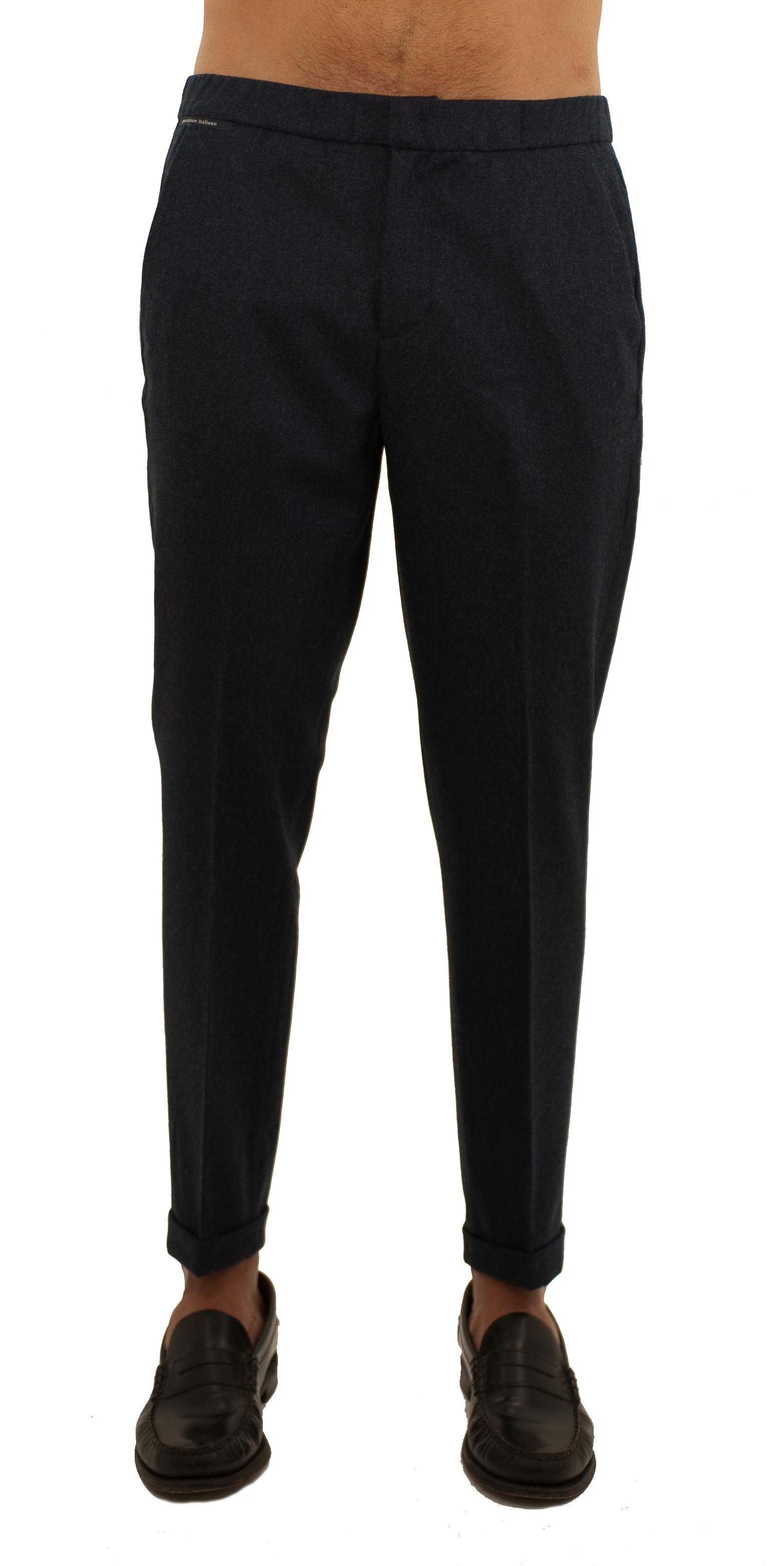 Picture of Wool trousers with drawstring