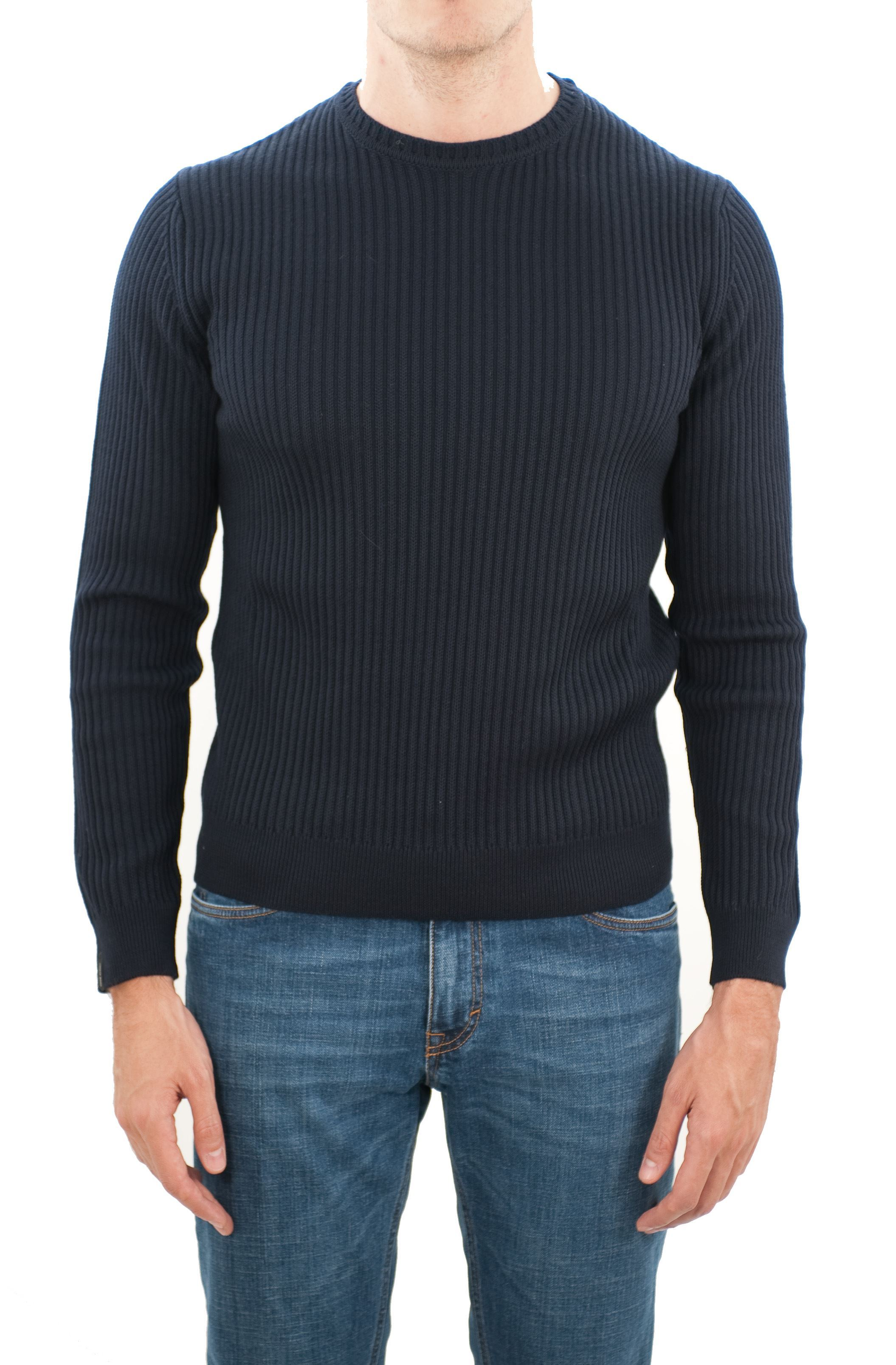 Picture of Knitted wool crewneck sweater
