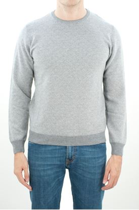 Picture of Micro patterned crewneck
