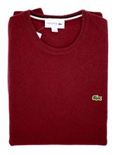 Picture of LACOSTE AH0841 GIRO BORDEAUX MARINE FARIN