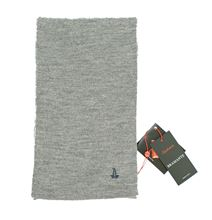 Picture of 100% Triploritorto® Merino Wool Scarf steel grey