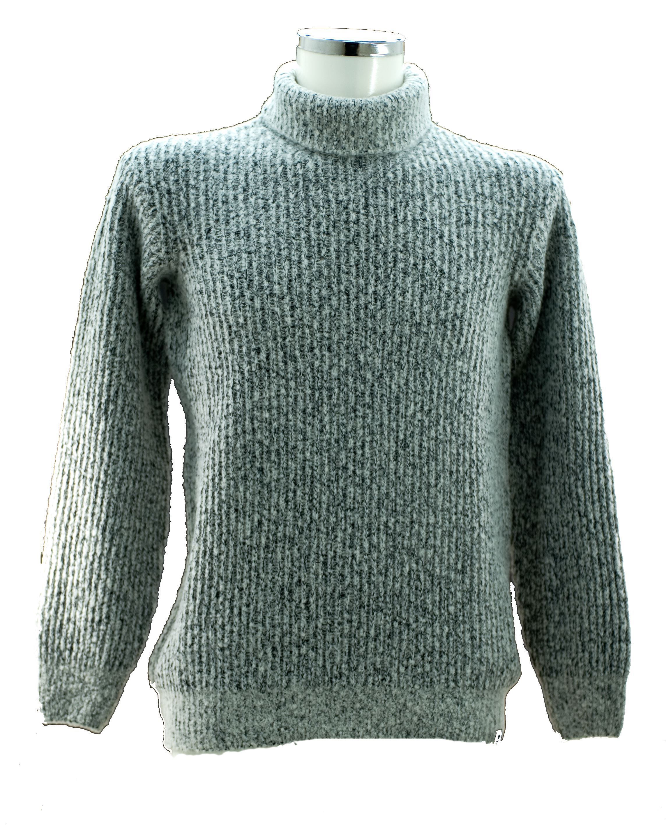 Picture of Pilar ribbed turtleneck sweater