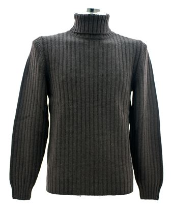 Picture of Ribbed turtleneck sweater