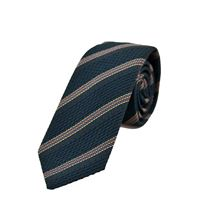 Picture of Patterned tie blue background