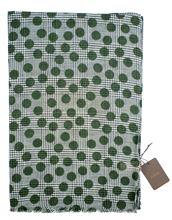 Immagine di Sciarpa fantasia a pois verdi