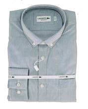 Picture of LACOSTE SHIRT ML CH0432 MARINE WHITE