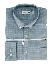 Picture of SHIRT ML CH0439 MARINE-WHITE