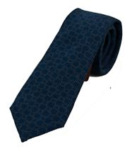 Picture of patterned light blue backgound tie