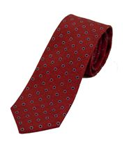 Picture of Patterned tie light red background