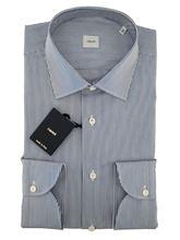Immagine di Camicia fondo bianco a righe blu