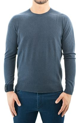 Picture of J-Class Round neck seamless reversible wool sweater