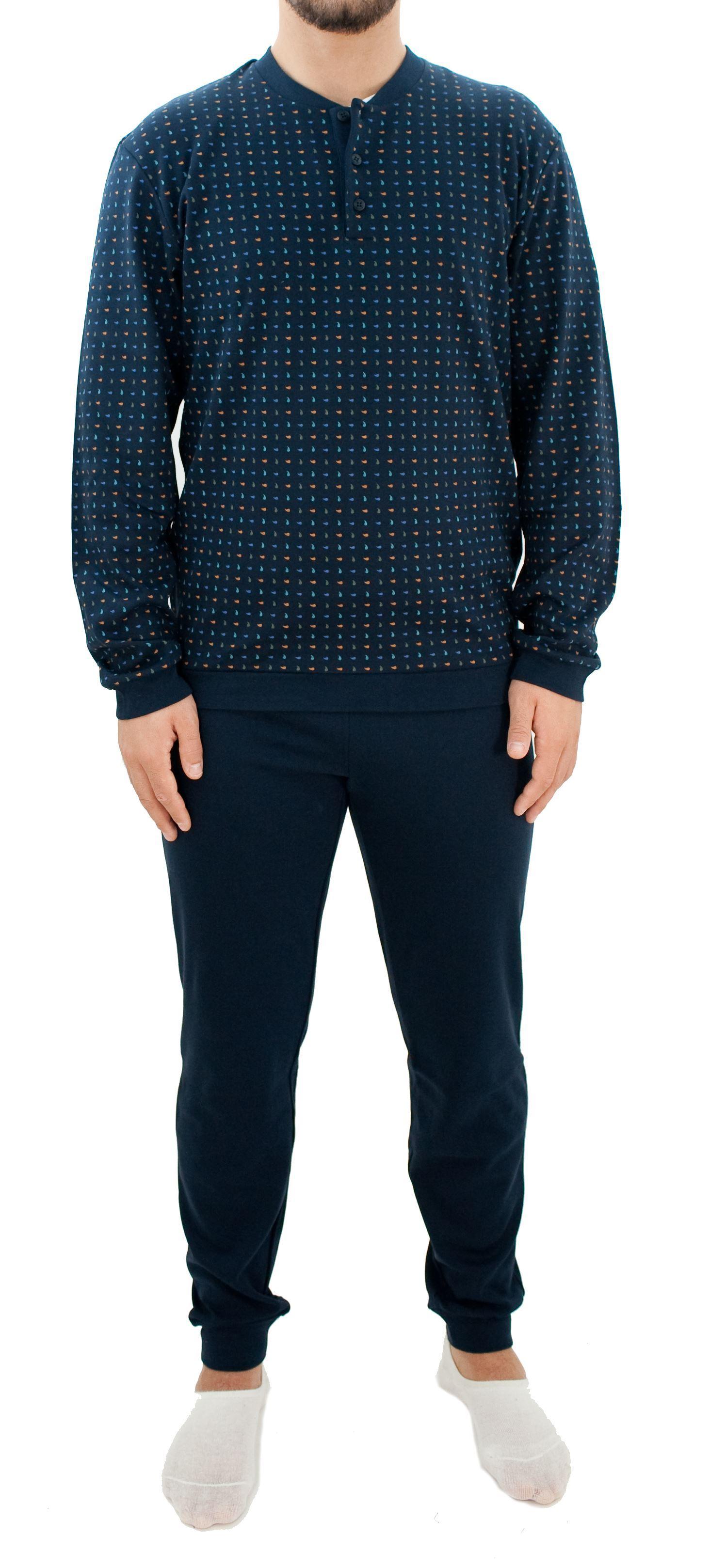 Picture of Men's pajamas no collar