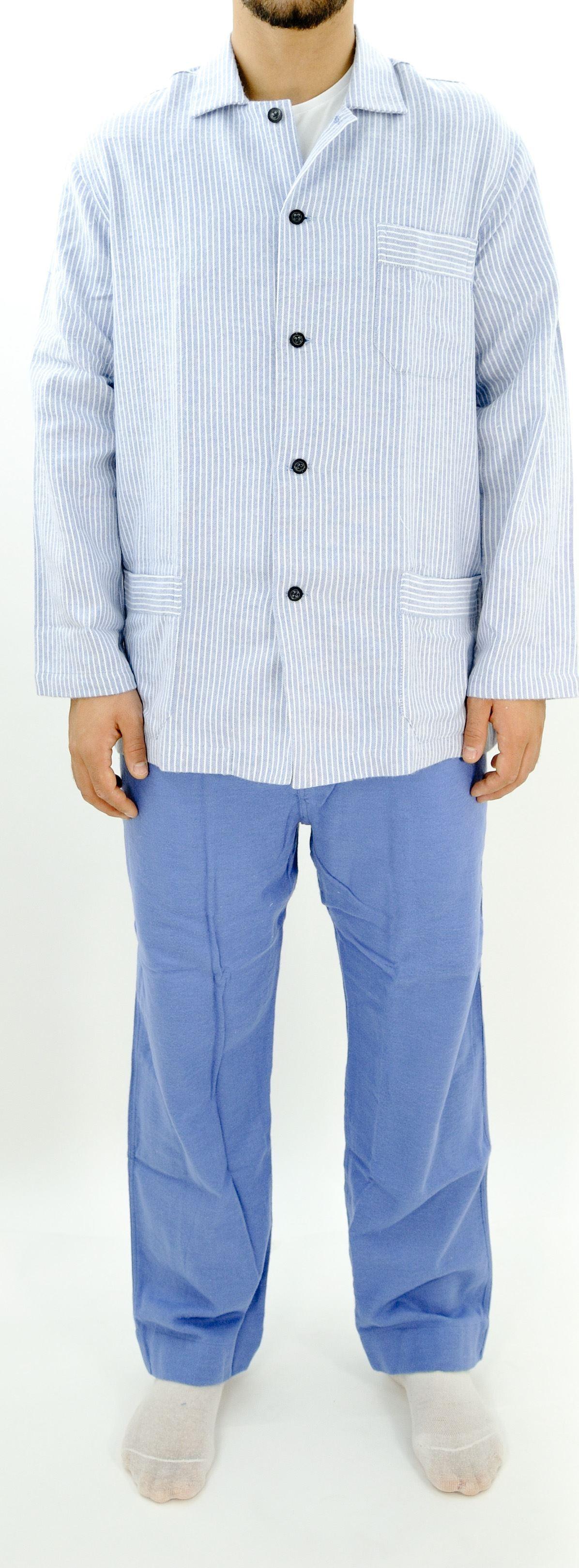 Immagine di Pigiama da uomo in flanella di cotone