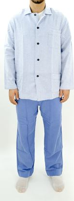 Picture of Men's Fleece pajamas with buttons