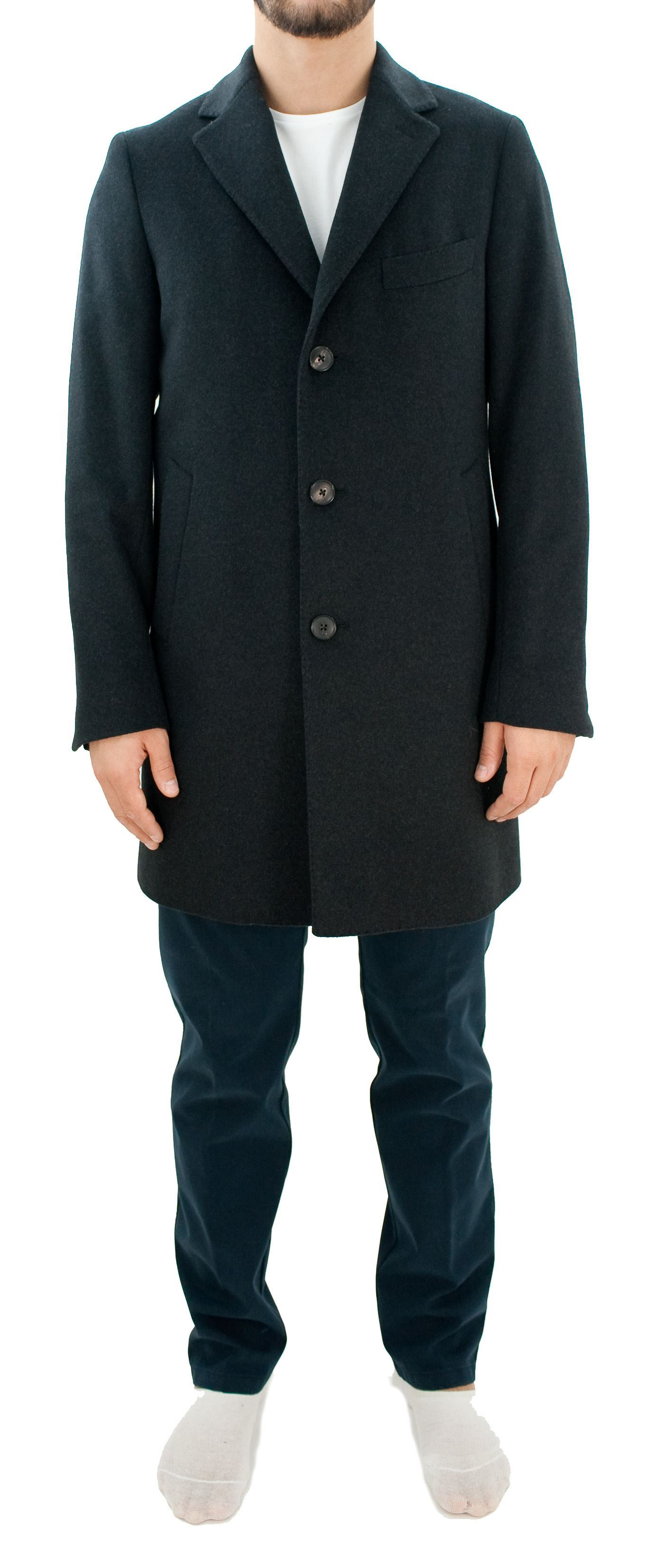 Picture of Grey wool coat