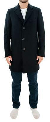 Picture of Blue wool coat