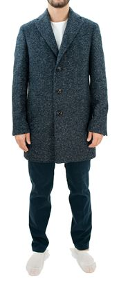 Picture of Patterned wool coat