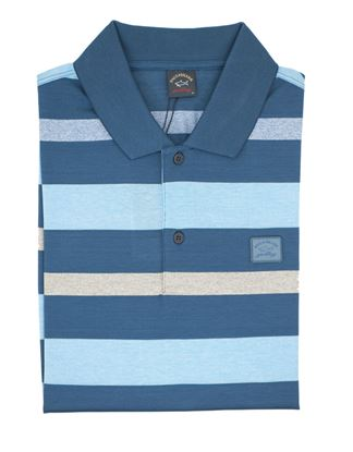 Picture of Short-sleeved Scotland yarn polo shirt
