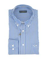 Picture of Light blue shirt with white stripe