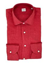Picture of  Red washed linen shirt