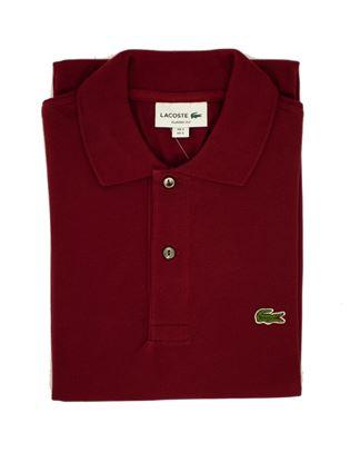 Picture of Lacoste Bordeaux Polo Shirt
