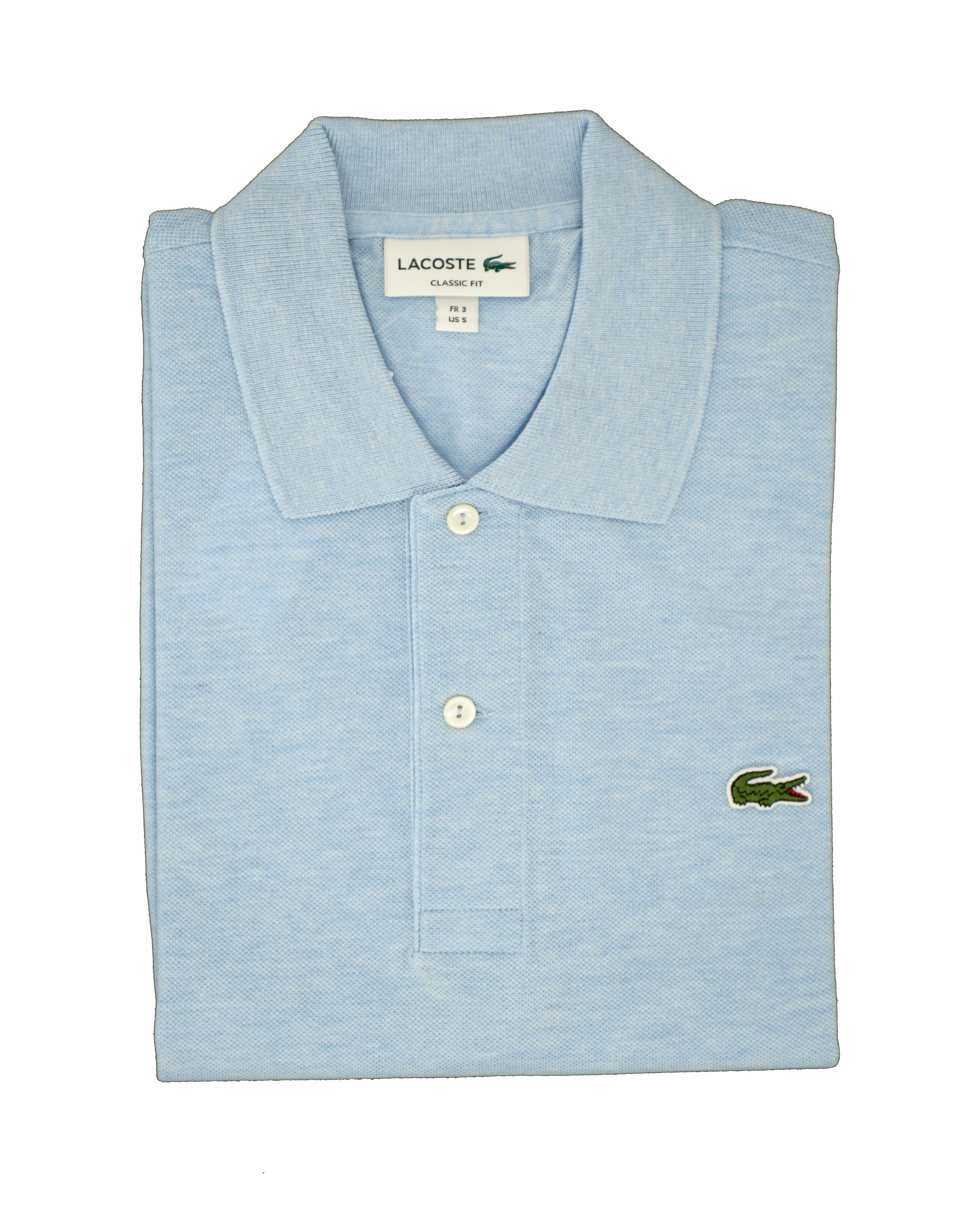Immagine di Polo lacoste chiné bleu chiné