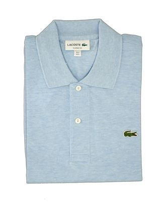 Picture of Polo lacoste chiné bleu chiné